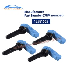 4 PCS 13581562 13581561 20922901 22853740 For GMC Buick Cadillac Chevrolet Car TPMS Tire Pressure Mo