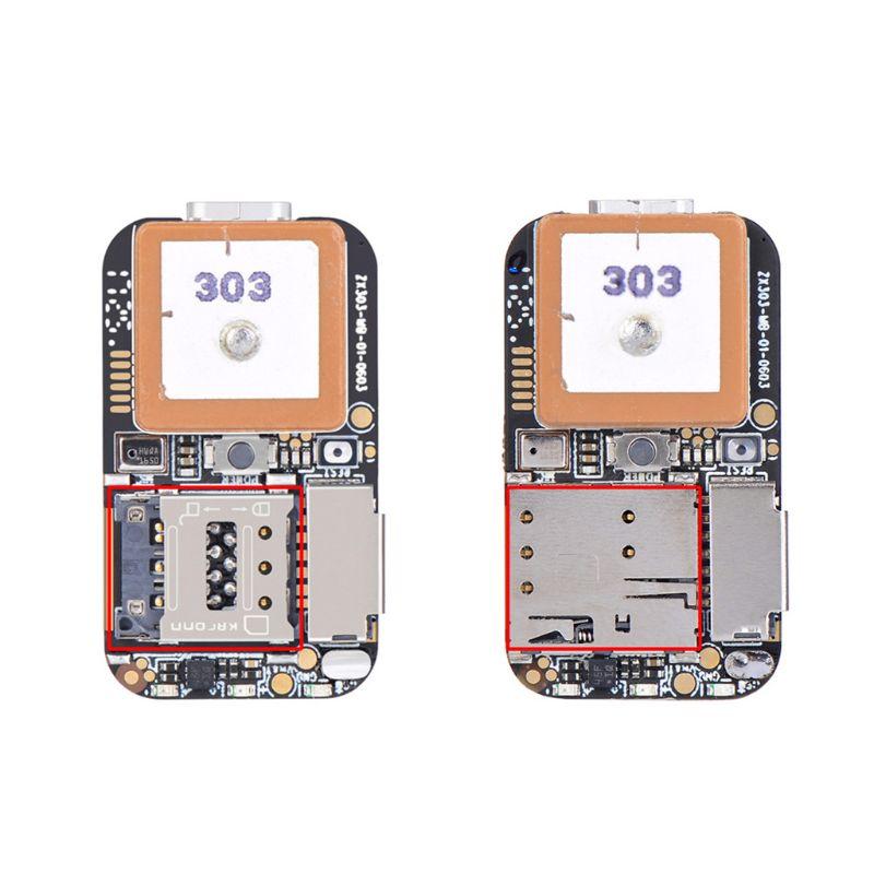 ZX303 PCBA Mini Größe GPS Tracker GSM AGPS Wifi LBS Locator SOS Alarm Web APP Tracking Stimme Recorder Koordinieren Dual system