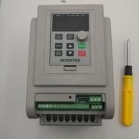 VFD Inverter 1.5KW/2.2KW/4KW/5.5KW Frequency Converter AT1 3P-220V Output CNC Spindle motor speed Control VFD Converter