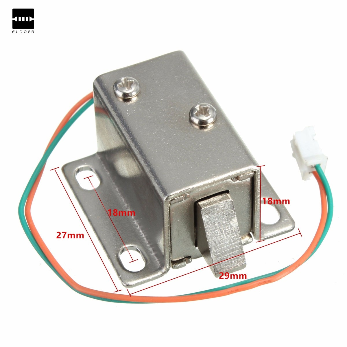 Small 27x29x18mm 12VDC Cabinet Door Drawer Electric Lock Assembly Solenoid Lock Durable in use