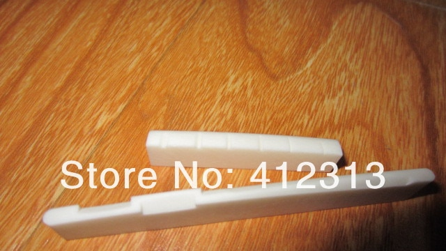 Bone Nut  Bone Saddle 6strings for acoustic guitar 43mm /30piece can do OEM enlarge