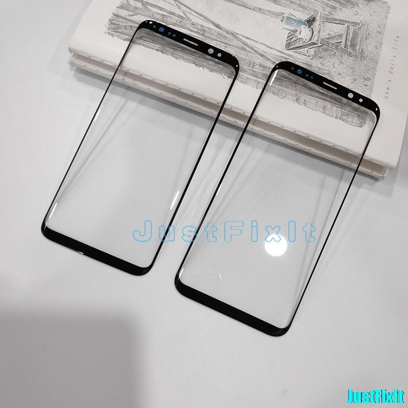 Reemplazo de reparación para Samsung Galaxy S8 S8 plus G950 G955 Lente de Cristal LCD de pantalla frontal