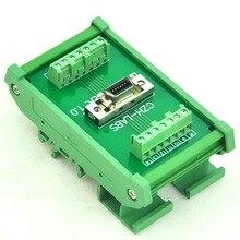 Montage sur Rail DIN Module dinterface femelle Mini D ruban/MDR 0.05
