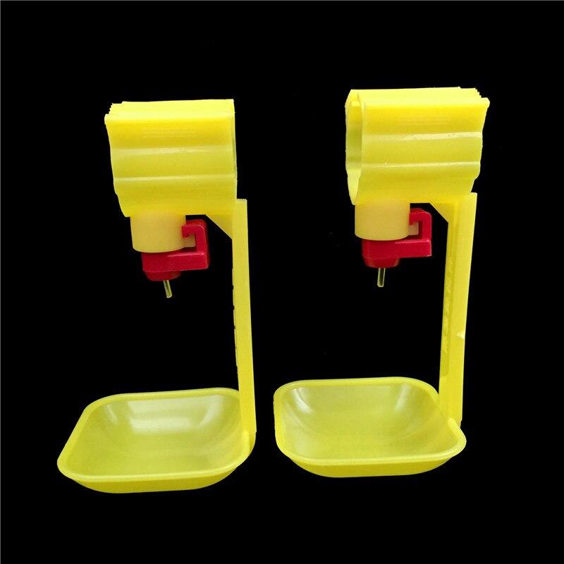 15 Uds. Bebedero para pollos de segunda generación, nueva taza de agua automática para pollos, 25mm, Bola de tubos para pezón