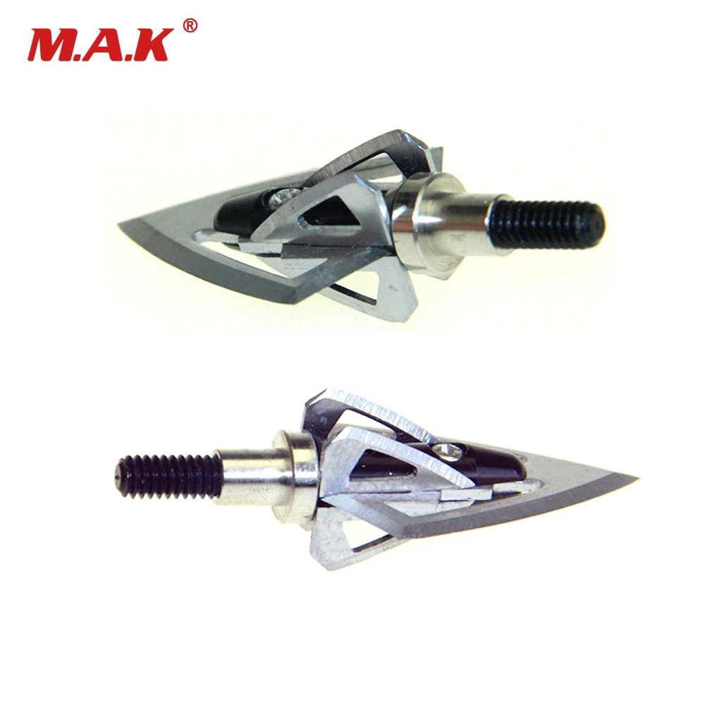 Cabezas de flecha de aluminio 100 punta de flecha de grano en negro para Flecha de fibra de vidrio Flecha de carbono tiro caza