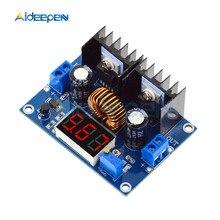 XL4016 светодиодный вольтметр ШИМ регулируемый 4-36 в до 1,25-36 в понижающий трансформаторный модуль 8A 200 Вт DC понижающая плата