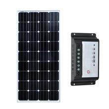 Zonnepaneel 12 Volt 150 Watt Cargador Solar Batterie Solar Laderegler 12 v/24 v 20A Caravan Auto Camp wohnmobil RV Lampe LED