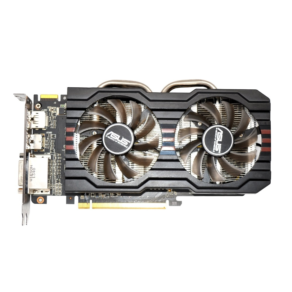 Verwendet, ORIGINAL ASUS R9 270 2GB 256bit GDDR5 Gaming Desktop PC Grafikkarte ,100% getestet gute