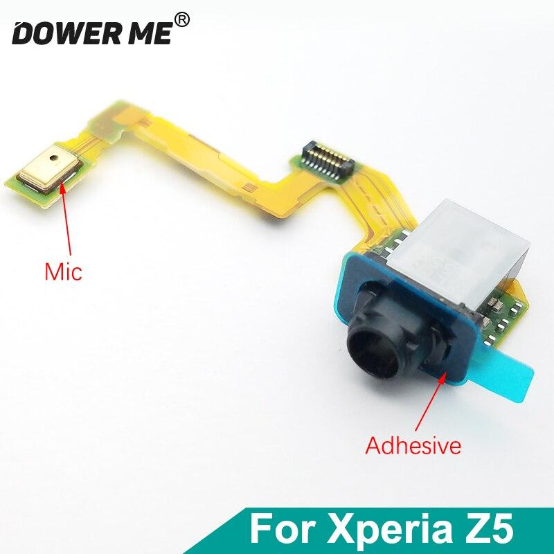 Dower Me наушники Jack аудио микрофон гибкий кабель для Sony Xperia Z5 E6683 E6653 E6633 Z5 двойной Быстрая доставка