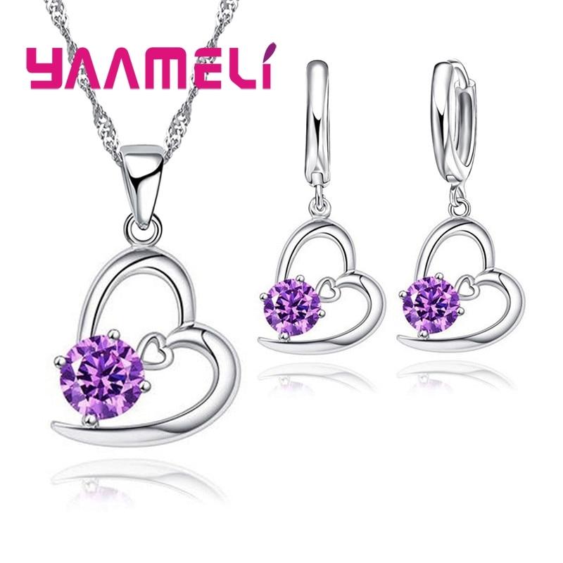 Лидер-продаж-свадебное-ожерелье-из-стерлингового-серебра-925-пробы-с-искусственным-сердцем-и-фианитами