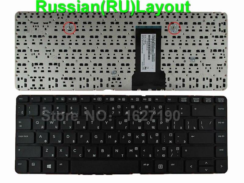New RU Russian Keyboard for HP ProBook 430 G1 BLACK For Win8 RU Laptop Keyboards