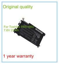 Oryginalny akumulator do laptopa dla kliknąć W35DT serii PA5156U-1BRS 7.6 V 3000 Mah