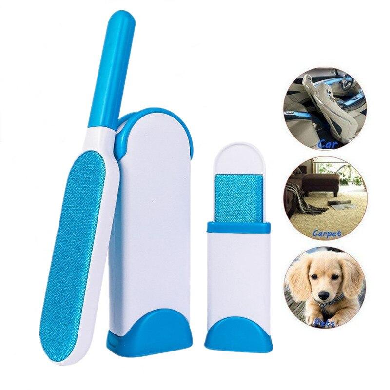 Brosse de nettoyage des poils danimaux   3 pièces, Portable chien chat, dispositif de pâte à poils, brosse de nettoyage des vêtements pelucheux, brosses de nettoyage de la fourrure