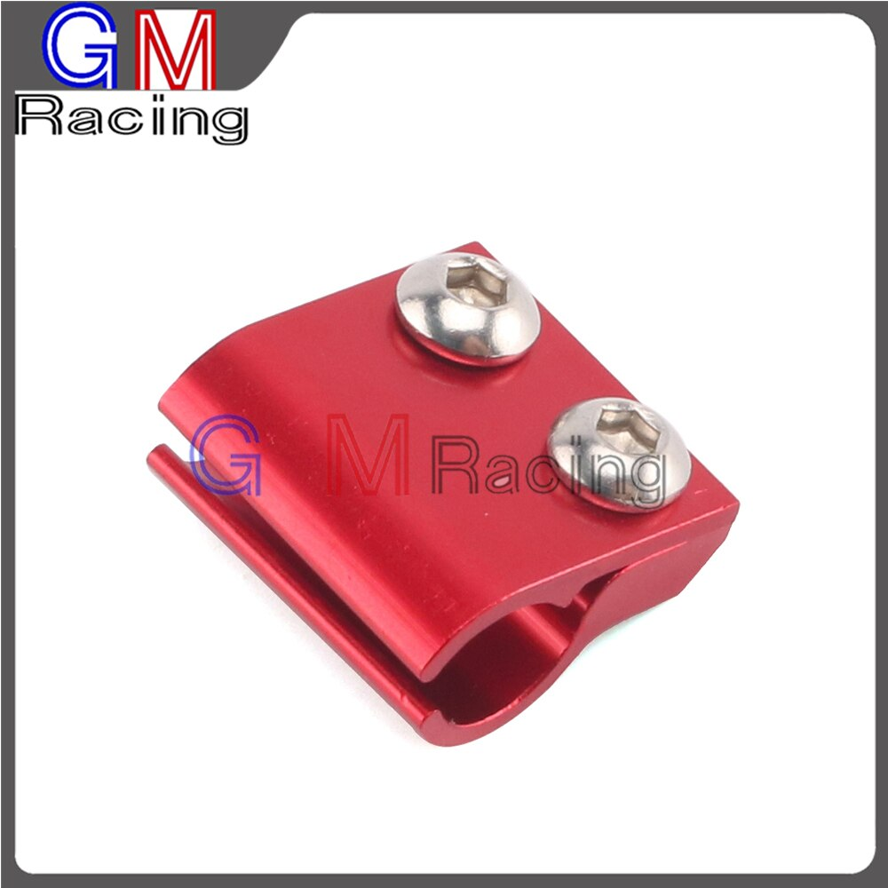 De aluminio CNC de freno delantero tubo flexible abrazaderas soporte para CR125R CR250R CRF250R CRF250X CRF450R CRF450X CRF250L CRM250M