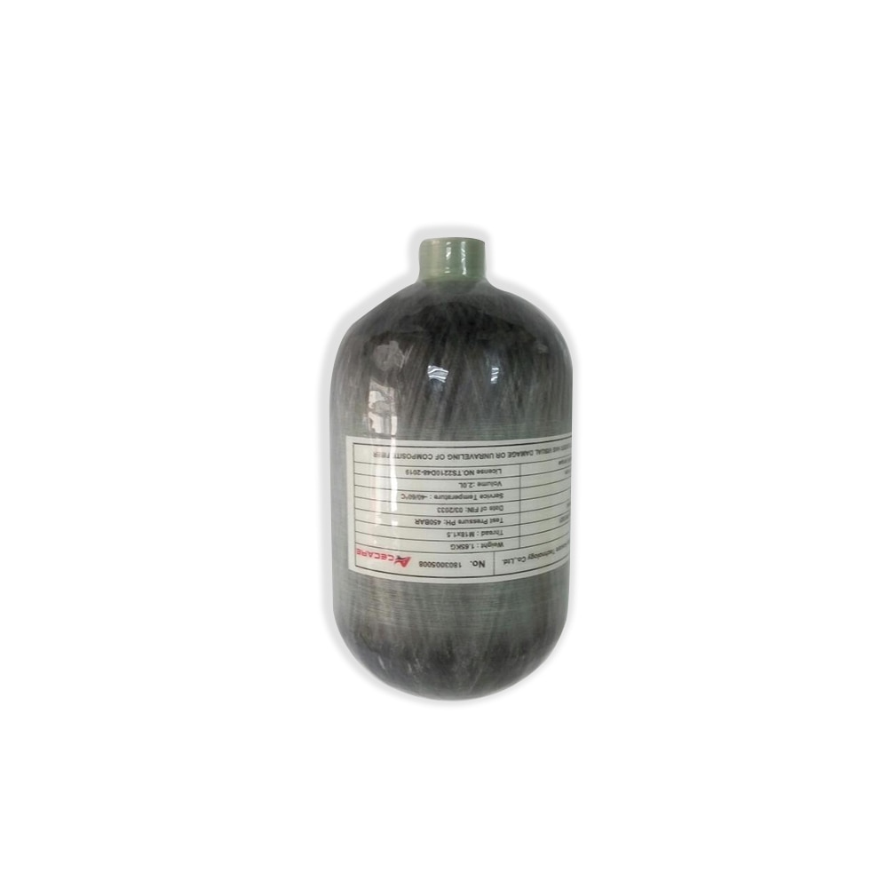 AC5020 Pcp Luftgewehr Mini Scuba 2L Ce Paintball Tank Hp 4500Psi Condor Carbon Gas Zylinder Tauchen Flasche/ airsoft Zylinder