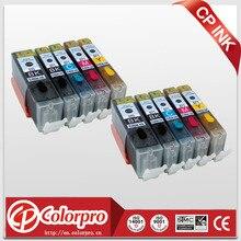 10PK 570 571 cartouche dencre comestible pour Canon pixma MG5700 MG5750 MG5751 MG5752 MG5753 MG6800 MG6850 MG6851 MG6852 MG6853