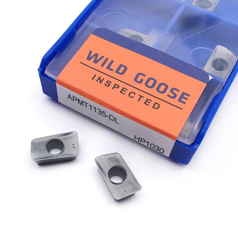 DL APMT1135 HP1030 APMT1135PDER APMT1604PDER M2 HP1030 torno ferramenta de corte Pastilha de metal duro ferramenta de corte de fresagem CNC