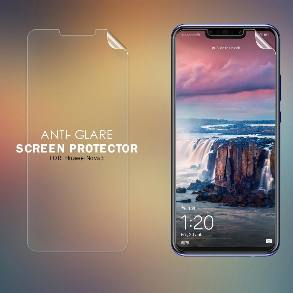 Para Huawei Nova 3 Protector de pantalla antideslumbrante mate Anti-huella digital película protectora suave PC mate película para Huawei Nova 3