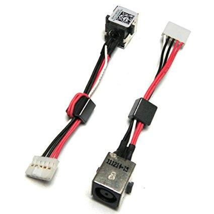 WZSM nuevo conector Jack DC cable para Dell Inspiron 15R 5520 7520 Dell Vostro 3560 P/N 0 W X 67 P WX67P