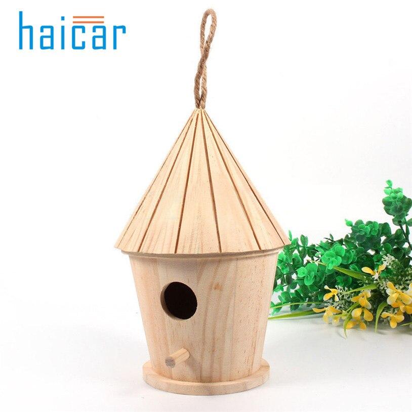 Деревянные садовые клетки для птиц гнезда Птичий дом