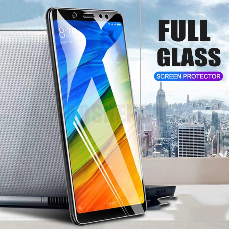 2 unids/lote de vidrio templado completo para Xiaomi Redmi Note 5 7 Pro Protector de pantalla 9H vidrio templado Anti Blu-ray para Redmi Note 7 Pro