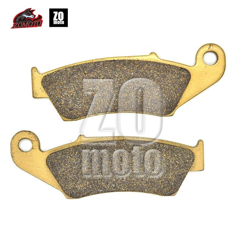 ZOMOTO 2016 Newet BRAND  MOTOBIKE  Disc Brake Pads fit for HONDA TRX450  KAWASAKI SUZUKI APRILIA BETA GAS ZERO ELECTRIC OF FA185