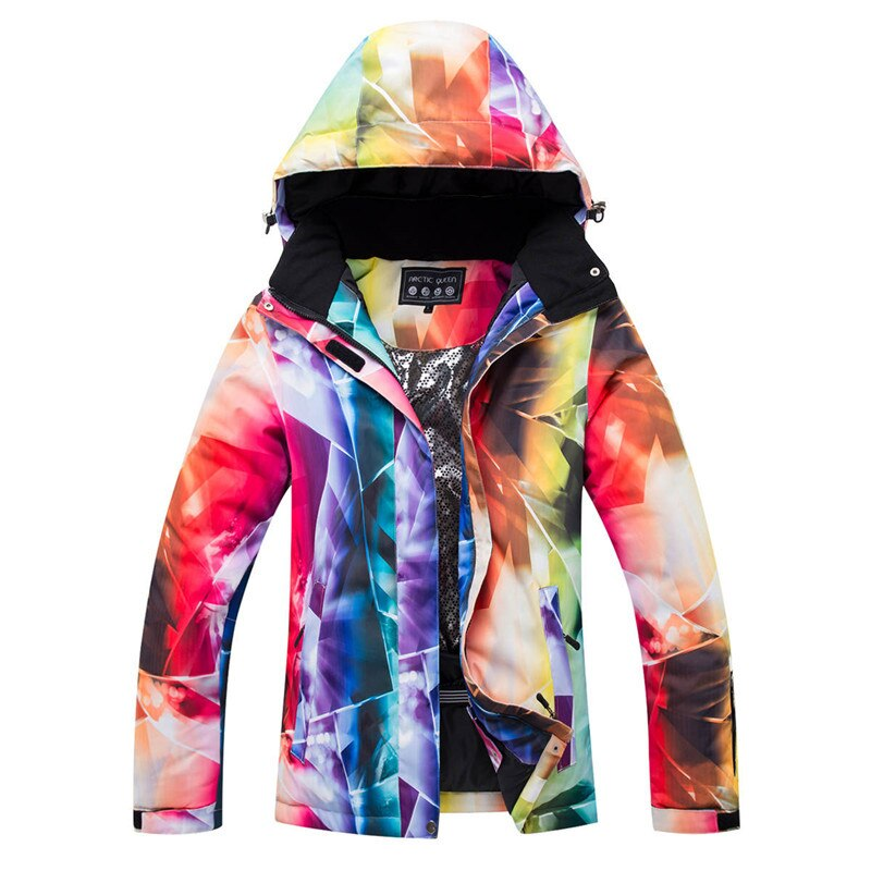 2020 Barato Novo Fêmea inverno Esportes Ao Ar Livre jaqueta de neve-30 traje Roupas de Snowboard À Prova D Água à prova de vento esqui Desgaste Mulheres
