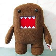 18/30 CM Kawaii Domo Kun peluche peluche douce poupées marron/rose drôle Domokun cadeau créatif domo-kun jouets en peluche pour les enfants