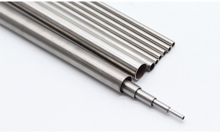 منتج مصنع حسب الطلب ، سلس 304 ماسورة من الفولاذ المقاوم للصدأ ، OD 14 مللي متر ، ID10 ، سمك الجدار 2 مللي متر ، طول 30 سنتيمتر ، 4 قطعة