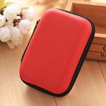 Etmakit 120*80*40mm étuis de rangement coloré Portable numérique accessoires sacs de transport pour téléphone Portable/batterie externe/câble/écouteurs