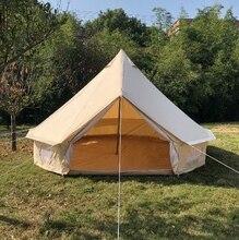 Livraison gratuite offre spéciale 4m Dia coton toile tente de camping en plein air, tente de tipi, tente de tipi indien, tente de cloche