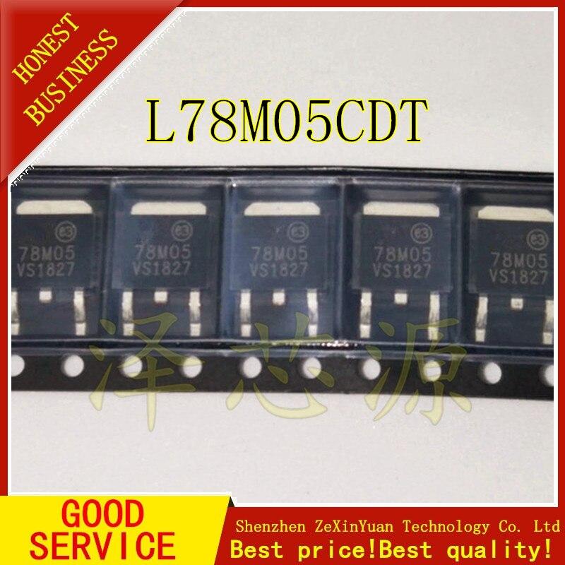 20 piezas L78M05CDT TO252 L78M05-252 78M05