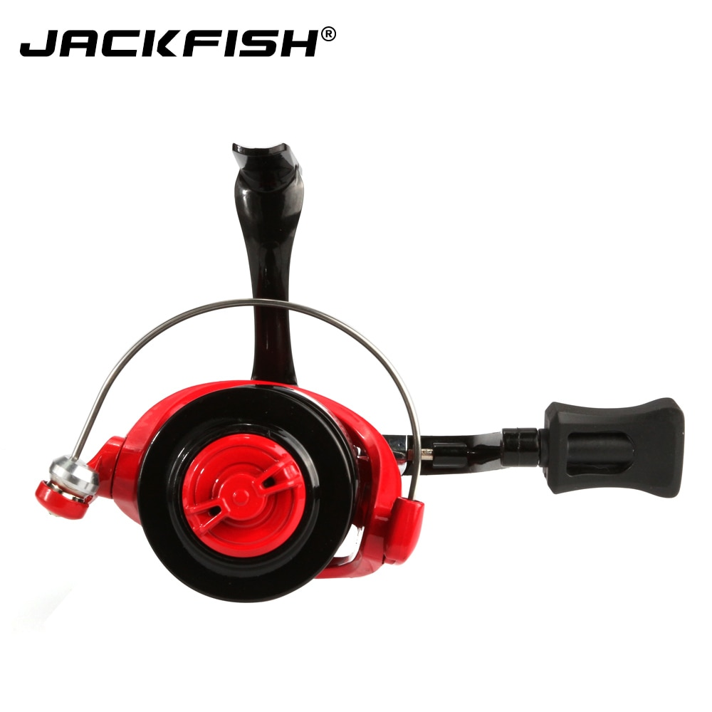 JACKFISH High Speed Fishing Reels G-Ratio 5.0:1 Bait Folding Rocker spinning wheel fishing reel carpa molinete de pesca enlarge