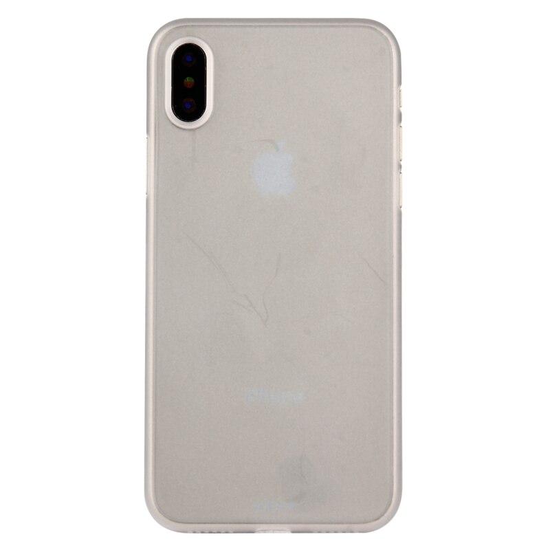 Para Apple iPhone XS funda Flexible PP carcasa trasera protectora para iPhone x funda capa coque