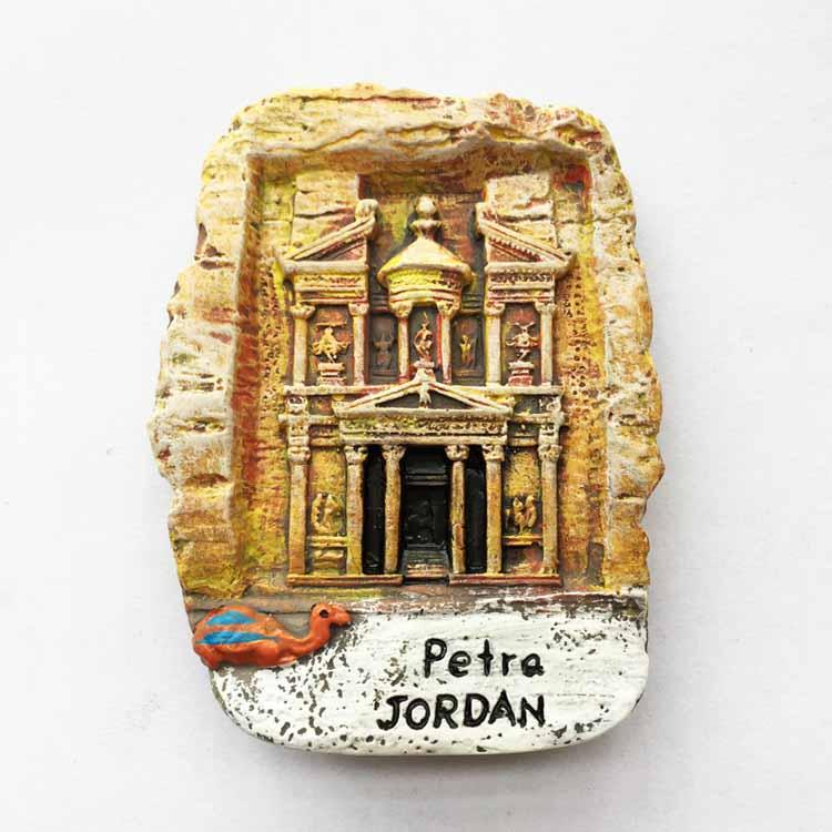 Lichia Antiga Cidade de Petra Jordan Adesivo Imã de Geladeira Imã de Geladeira Criativo Casa Moderna Decoração Da Cozinha