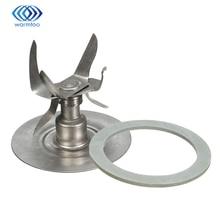 Qualité Durable argent acier inoxydable 304 lame de concassage de glace Six points mélangeur + joint détanchéité pièces pour Oster