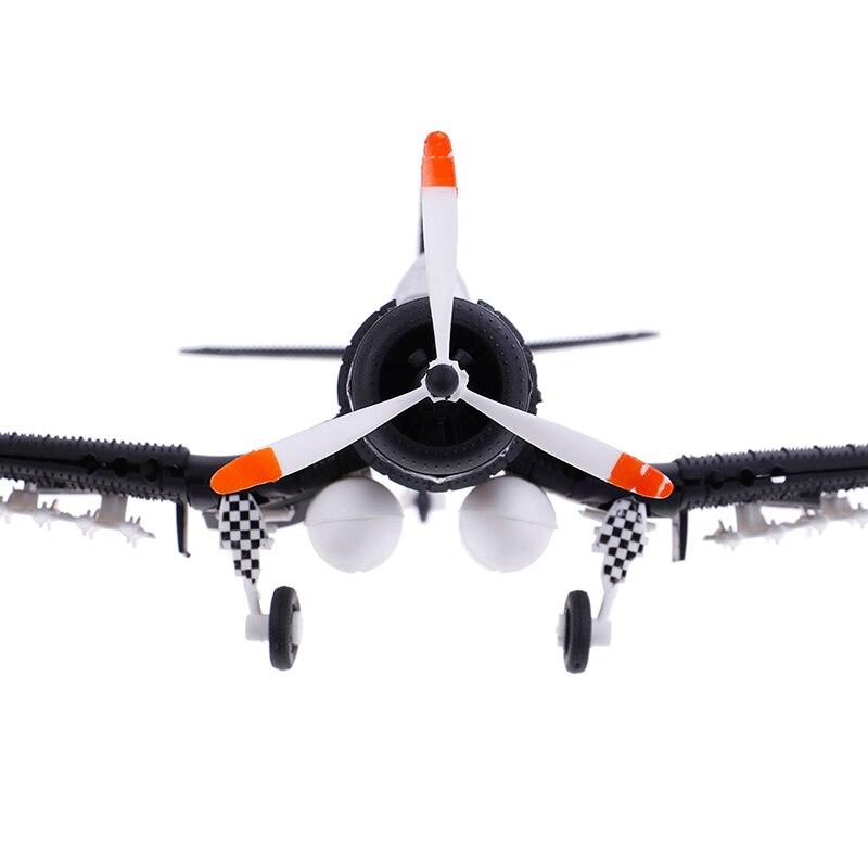 1 Uds escala 1/48 montar cazas de juguete en miniatura ala aviones de combate de fundición de la guerra-II edificio conjuntos de herramientas de Color al azar