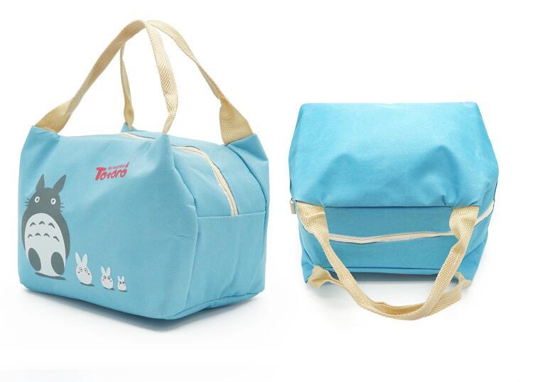 DHL FEDEX, 50 шт., сохраняющая тепло, переносная сумка для пикника с принтом Тоторо, мультяшная, со льдом, для автомобиля, для ланча, для хранения фр...