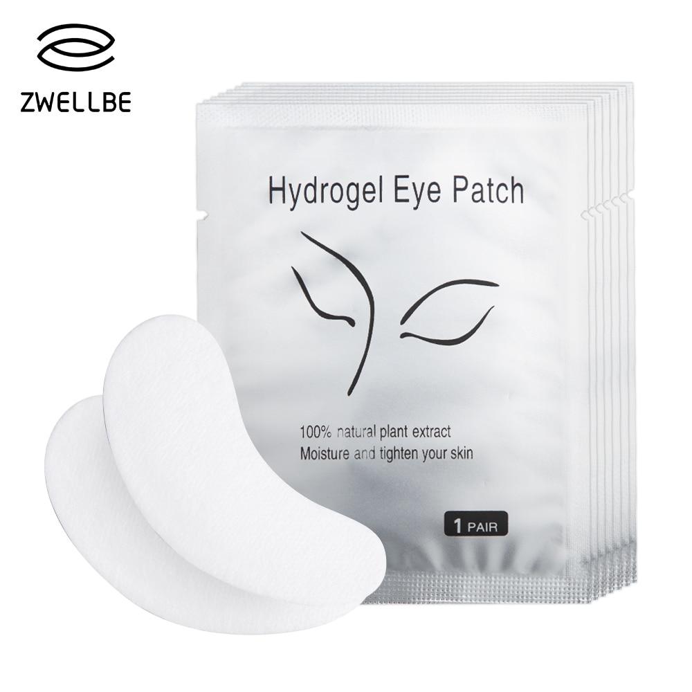 50 пар/упак. новые бумажные накладки для ресниц под глаза, бумажные накладки для наращивания ресниц, наклейки для глаз, косметические обертки, инструмент
