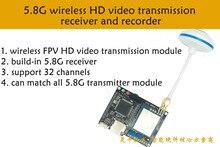 LCR600_32 canal 600 mW 5.8G convertisseur Audio et vidéo émetteur FPV sans fil extérieur pour avion boarnaque DJI quadrirotor