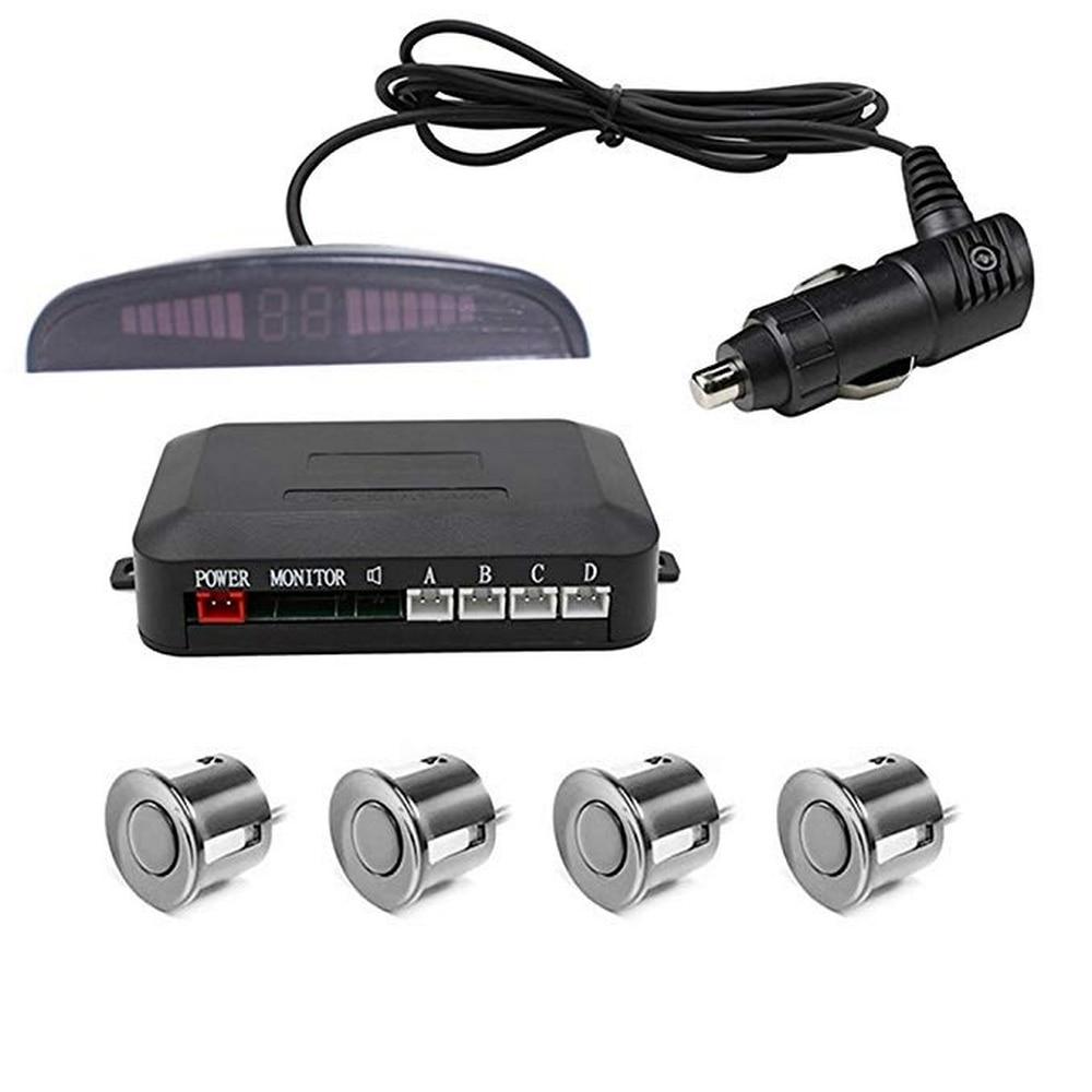 Car Parking Sensor Wireless WiFi Free Wiring Reversing Radar 4 Probe Reversing Radar Auto Parking Monitor Assistant