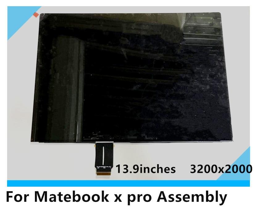 Para Huawei MateBook X Pro pantalla táctil LCD de 13,9 pulgadas LPM139M422 A 3K pantalla 3200X2000 reemplazo de montaje de pantalla