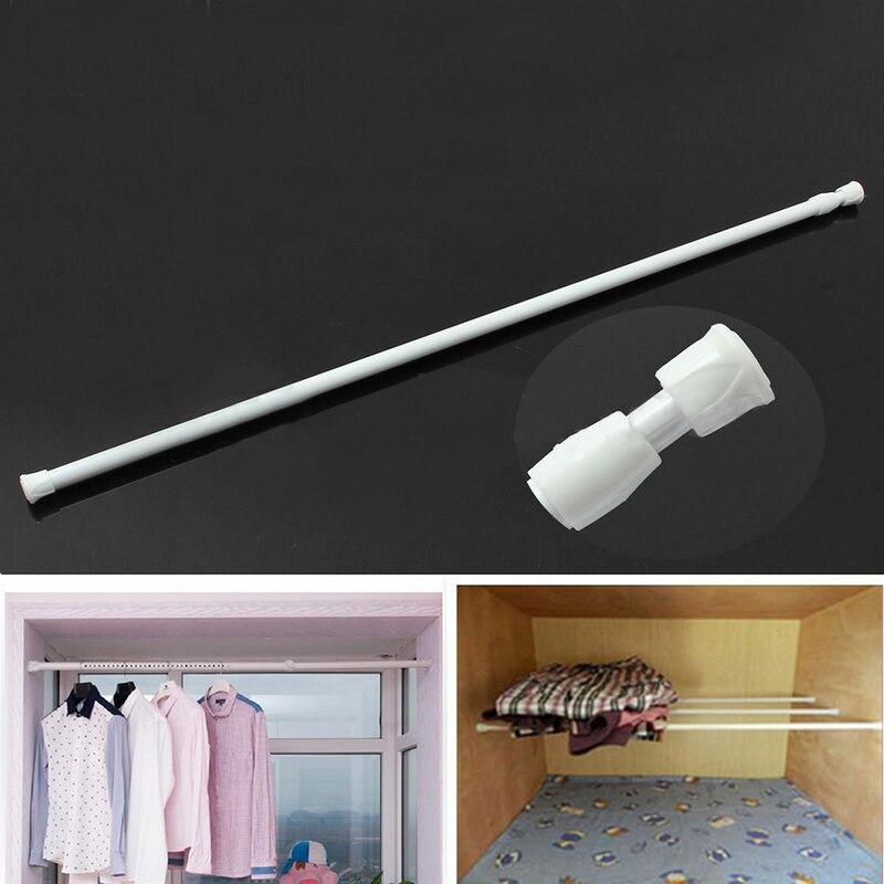 Многофункциональная Регулируемая раздвижная телескопическая занавеска для душа, пружина, занавески для ванной, держатель для ванной 40-70 см
