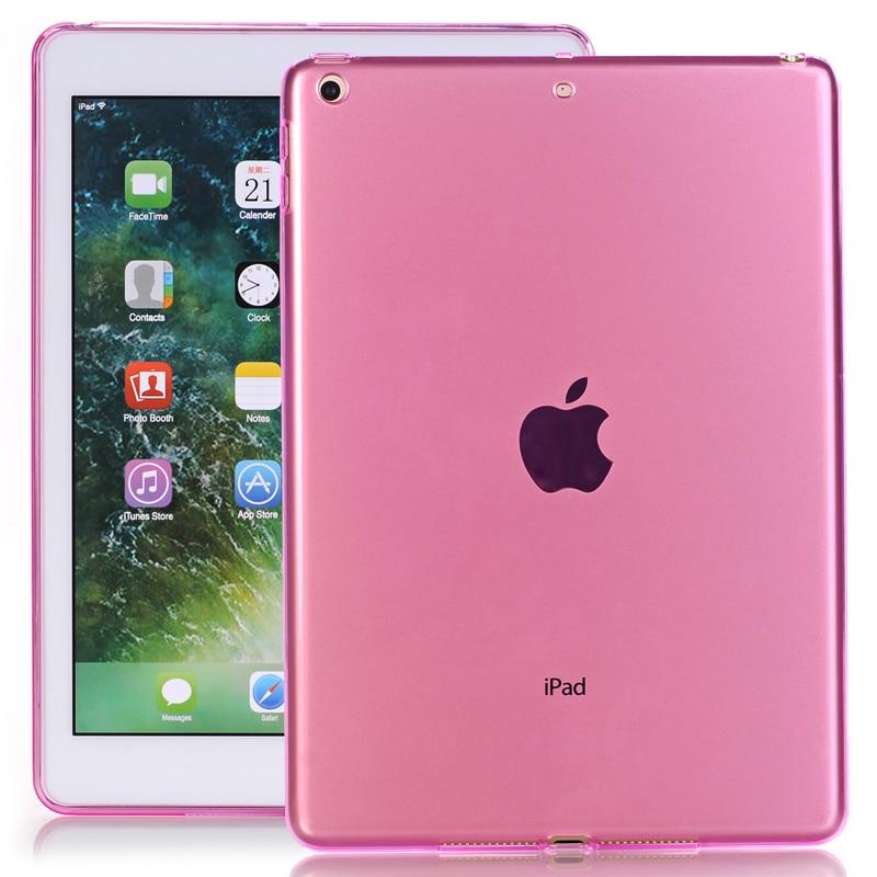 "Más nuevo transparente funda trasera suave TPU caso para Apple iPad mini5 ultrafino claro caso tableta suave cubierta para iPad mini5 8"""