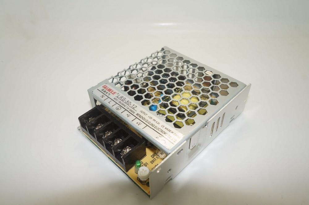 50W 12V 4.2A à sortie unique   Alimentation de commutation de type mince, efficace en énergie, sortie unique