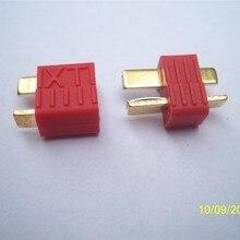 10 Pairs/Lot T plug Skidding Deans Dean Connector T plug Lipo Battery ESC Connector RC Toys DJI Phan