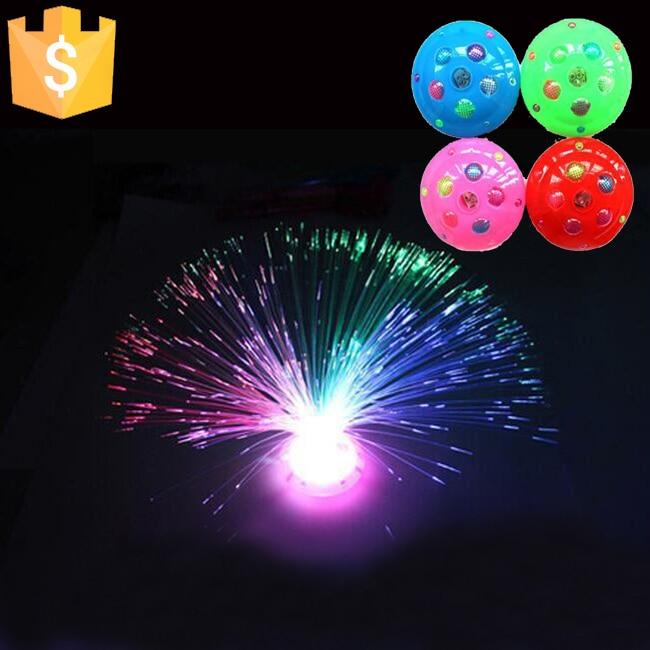 عيد الميلاد مصباح ملون الألياف البصرية مليء بالنجوم الإسفار الزهور ضوء مصباح شحن مجاني 12 قطعة/الوحدة