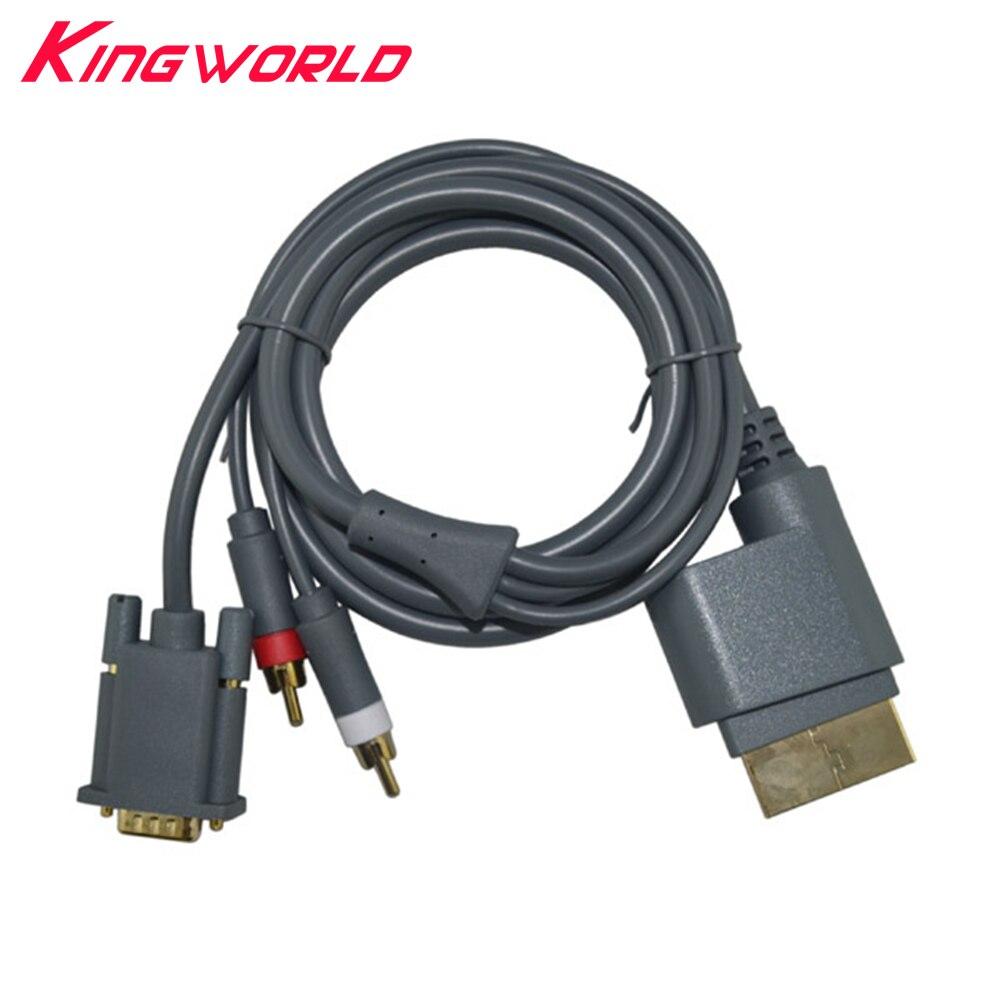 50 piezas de alta calidad HD VGA AV Cable Video Audio conector...