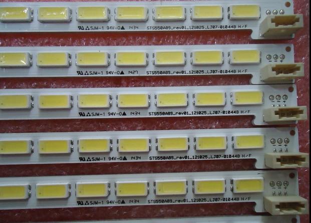 Tela led backlight LJ64-03691A STS550A89-REV01-121025-LJ07-01044B 1 pcs = 80led 676mm