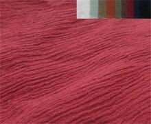 Tissu tissé en mousseline de soie 100% coton   Pour chemise et vêtements pour femmes